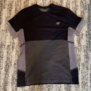 Men's new balance athletic t shirt - size med